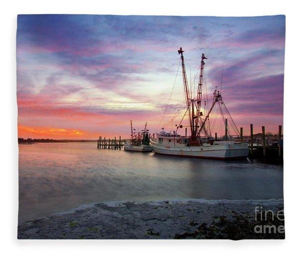 Swansboro Memories  Fleece Blanket