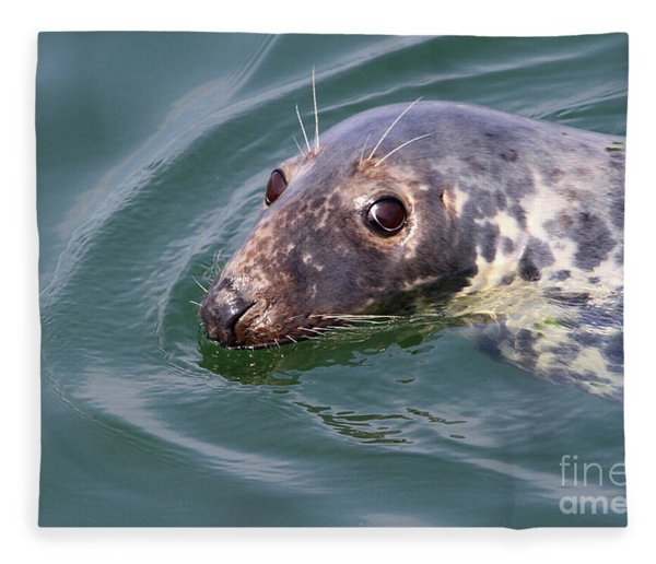 Sweet Seal Fleece Blanket