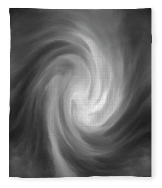 Swirl Wave Iv Fleece Blanket