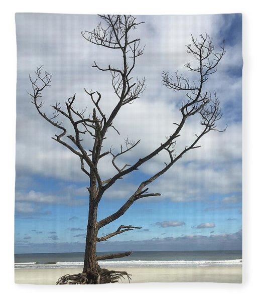 Talbot Stilt Tree #1 Fleece Blanket