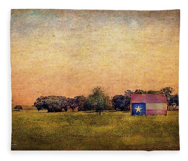 Texas Morn' Fleece Blanket