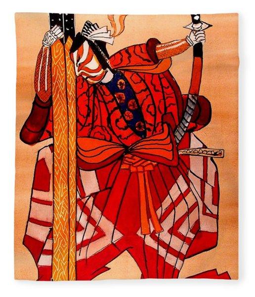The Age Of The Samurai 04 Fleece Blanket