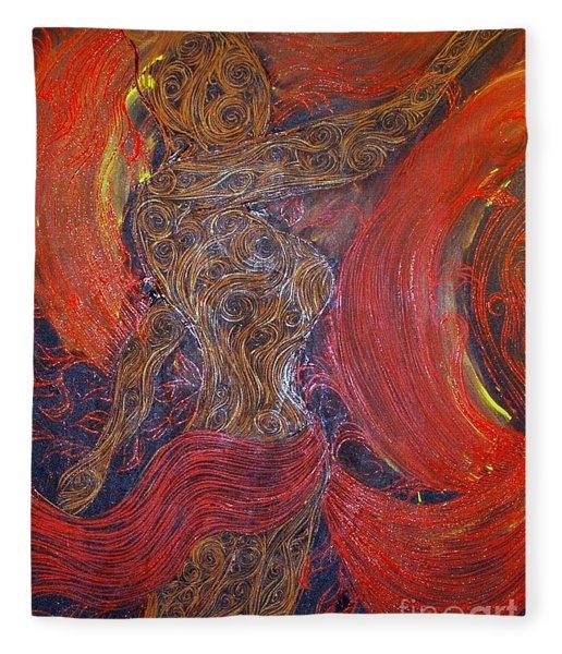 The Belly Dancer Fleece Blanket