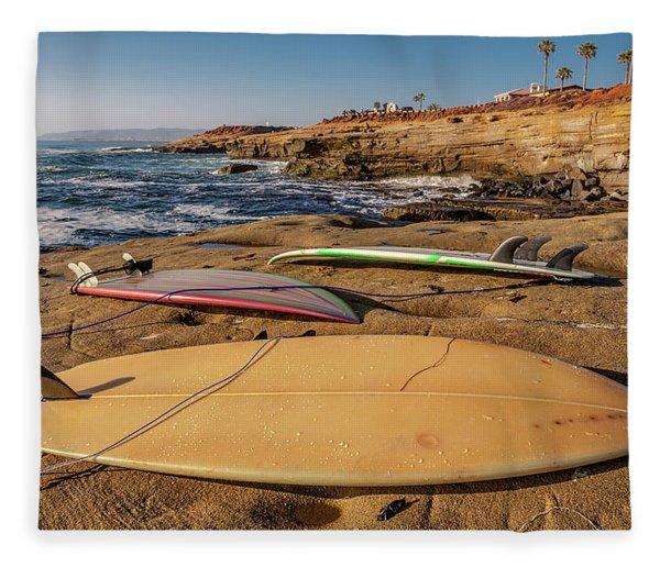 The Boards Fleece Blanket