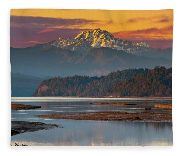 The Brothers From Hood Canal Fleece Blanket