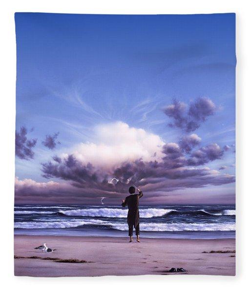 The Conductor Fleece Blanket