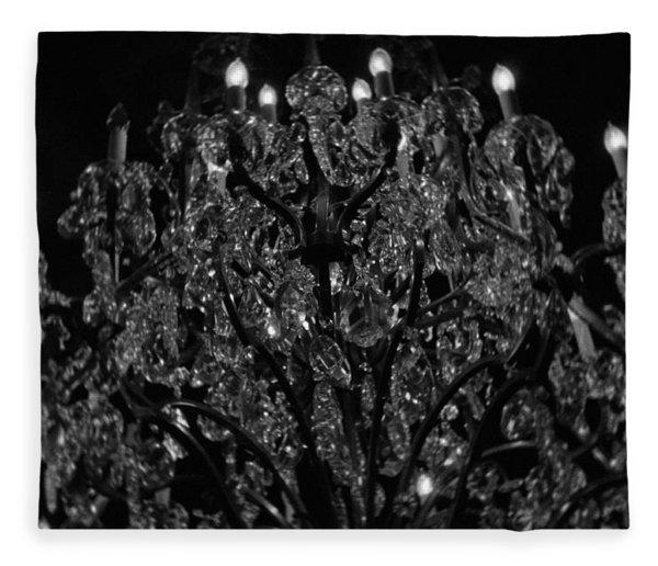 The Drake Chandelier Fleece Blanket