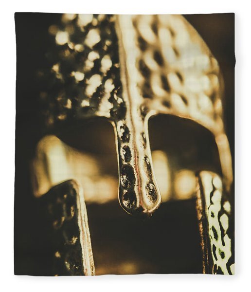 The Gladiators Tale Fleece Blanket