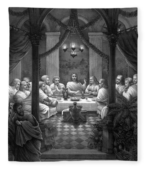 The Last Supper Fleece Blanket