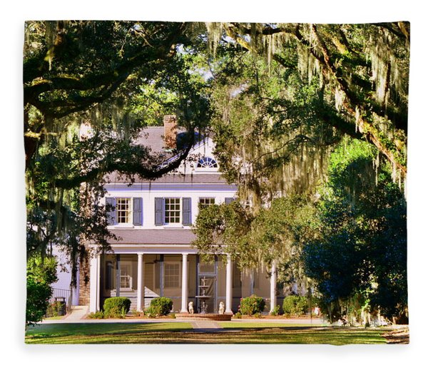 The Legare-waring House At Charles Town Landing Fleece Blanket