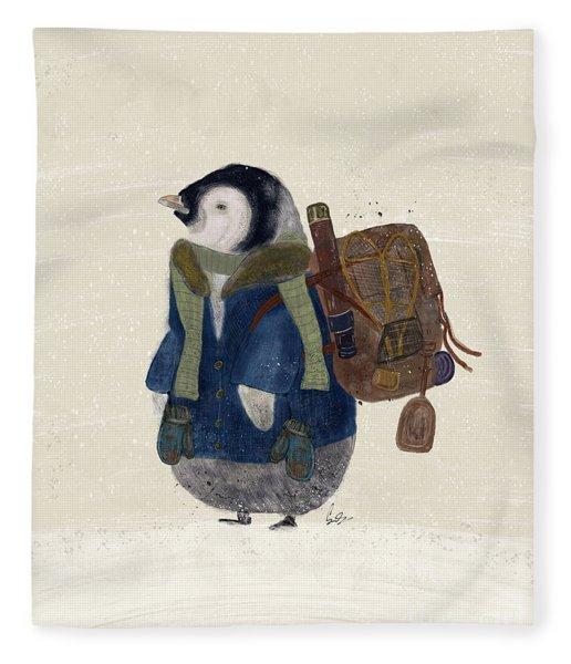 The Little Explorer Fleece Blanket
