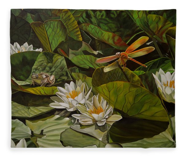 The Morning Symphony Fleece Blanket
