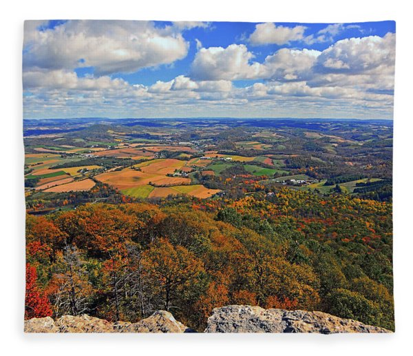 Fleece Blanket featuring the photograph The Pinnacle On Pa At by Raymond Salani III