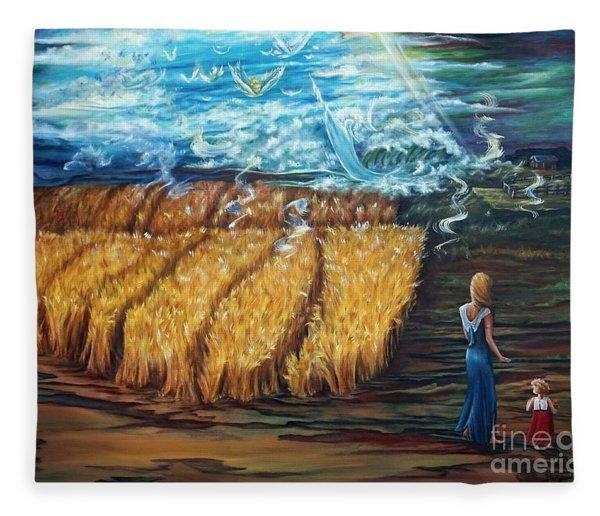 The Rapture Fleece Blanket