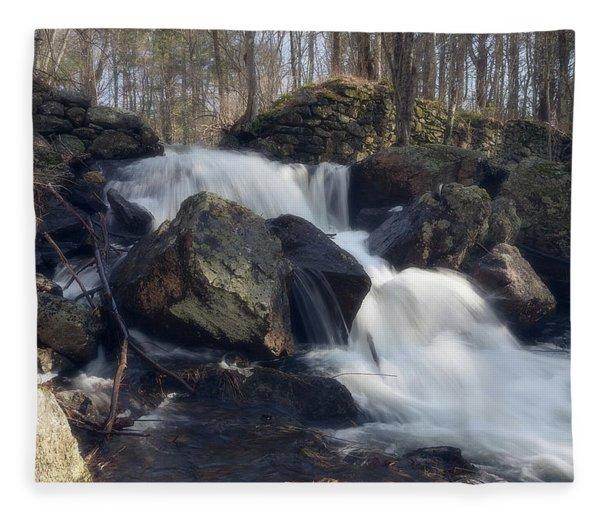 The Secret Waterfall 1 Fleece Blanket