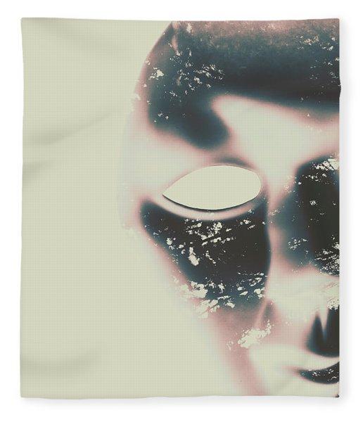 The Solace Of Stillness Fleece Blanket
