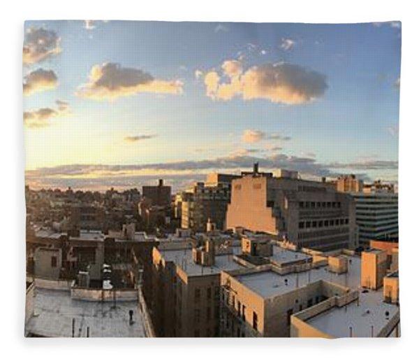 The Bronx Morning Fleece Blanket
