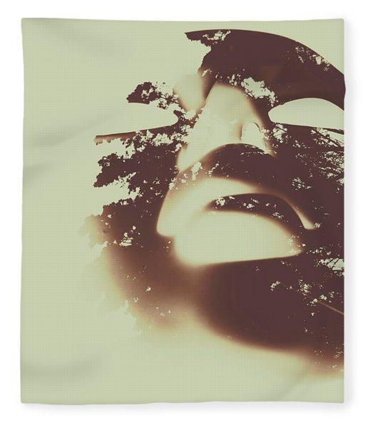 The Spirit Within Fleece Blanket