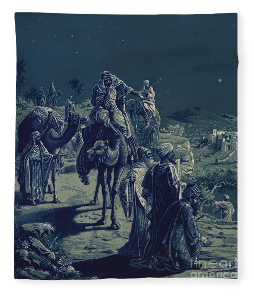 The Star Of Bethlehem Fleece Blanket