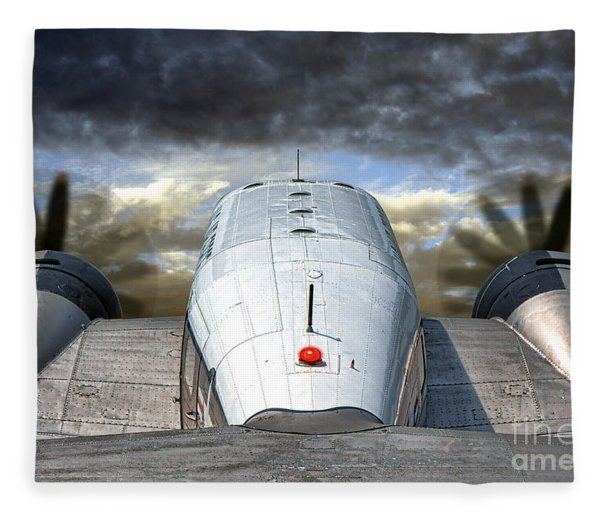 The Takeoff Fleece Blanket