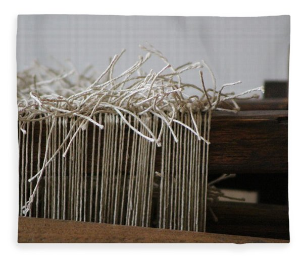 The Tales We Weave In Sepia Photograph Fleece Blanket