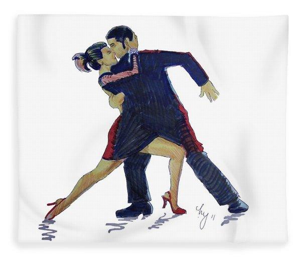 The Tango Fleece Blanket