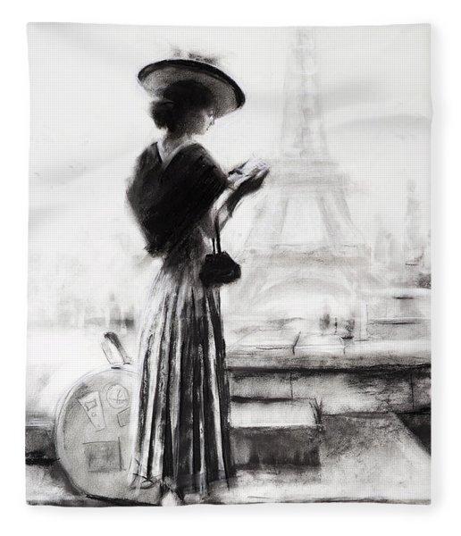 The Traveler Fleece Blanket