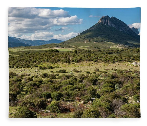 The Urzulei Mountains Fleece Blanket