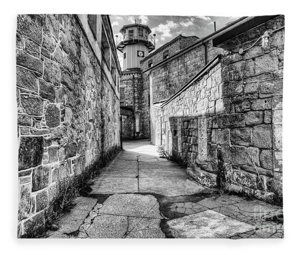 The Watch Tower Eastern State Penitentiary Fleece Blanket