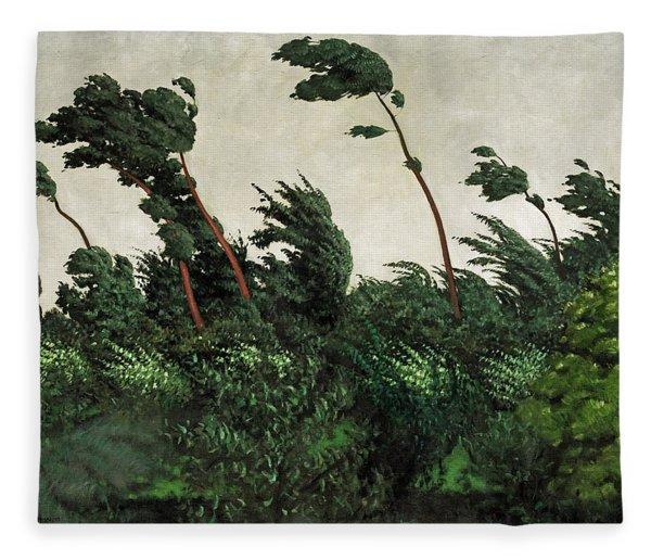 The Wind Fleece Blanket