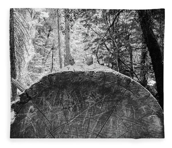 Thinking Tree- Fleece Blanket
