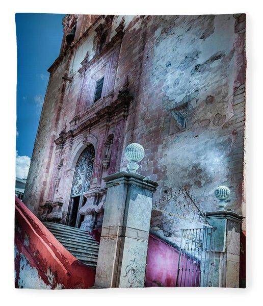 This Old Church Fleece Blanket