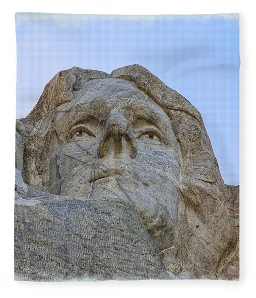 Thomas Jefferson 2 Fleece Blanket