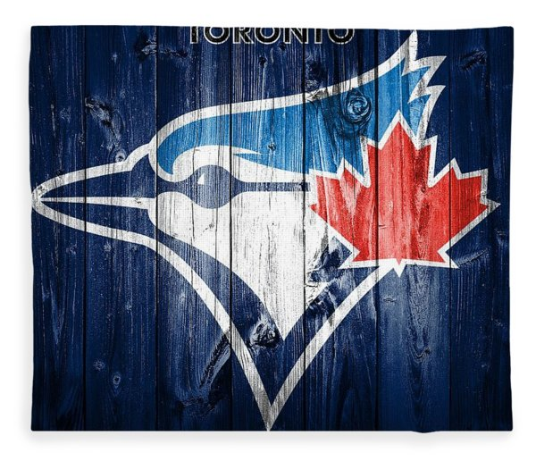 Toronto Blue Jays Barn Door Fleece Blanket