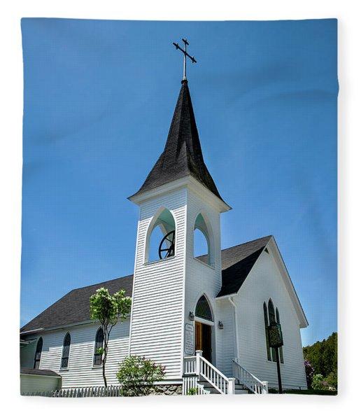 Trinity Church Fleece Blanket