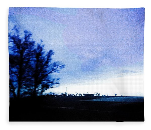 Fleece Blanket featuring the photograph Twilight  by Bee-Bee Deigner