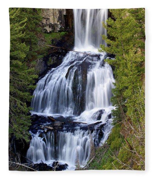 Udine Falls Fleece Blanket