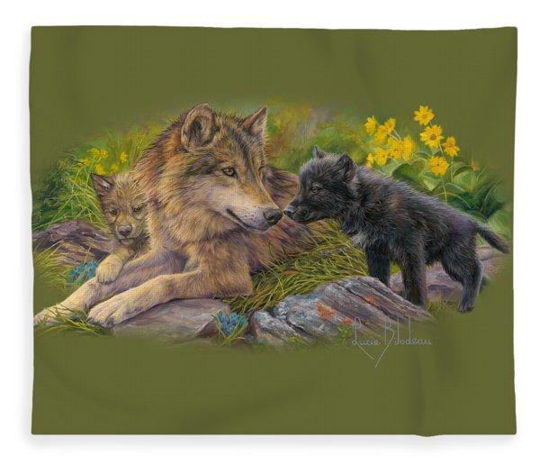 Unconditional Love Fleece Blanket