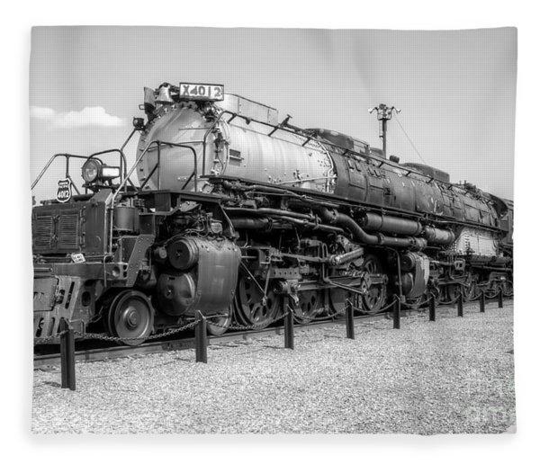 Union Pacific 4012 Fleece Blanket