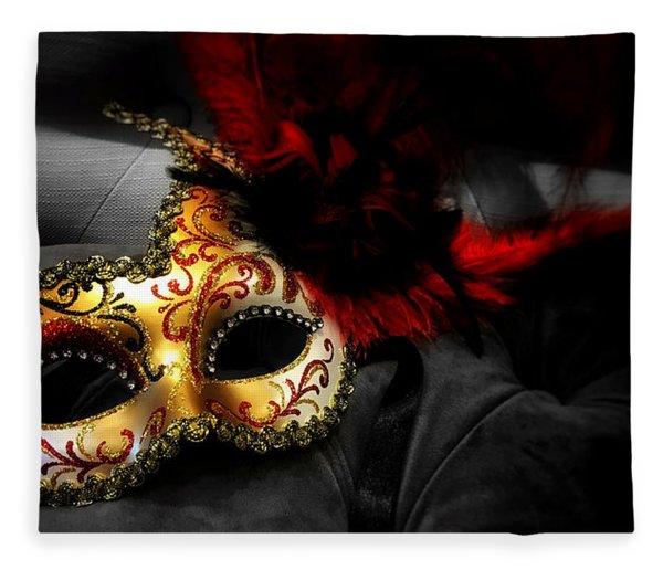 Unmasked Fleece Blanket