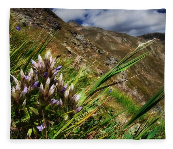 Untitled 94 Fleece Blanket