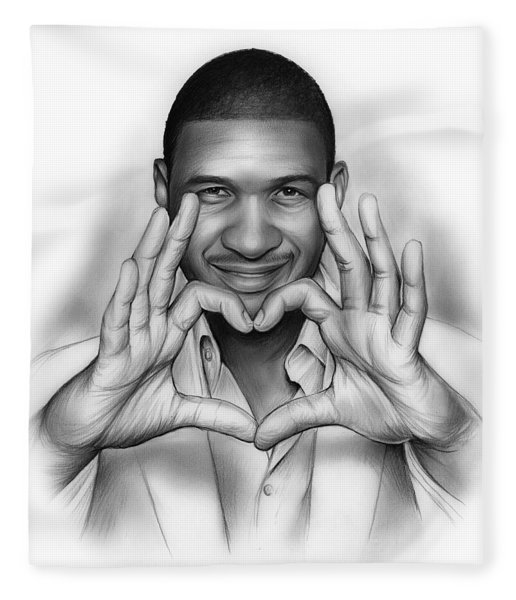 Usher Fleece Blanket