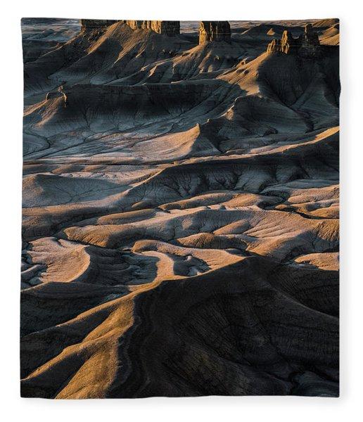 Utah Vista Fleece Blanket