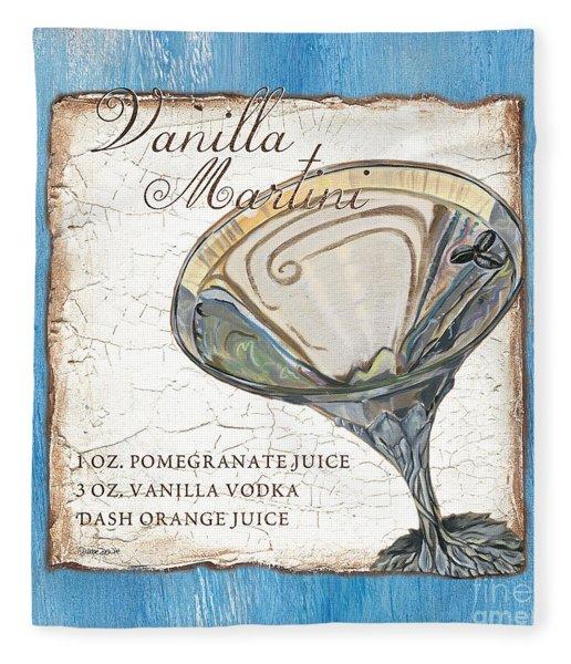 Vanilla Martini Fleece Blanket