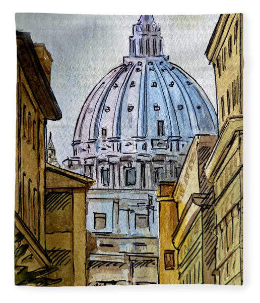 Vatican City Fleece Blanket