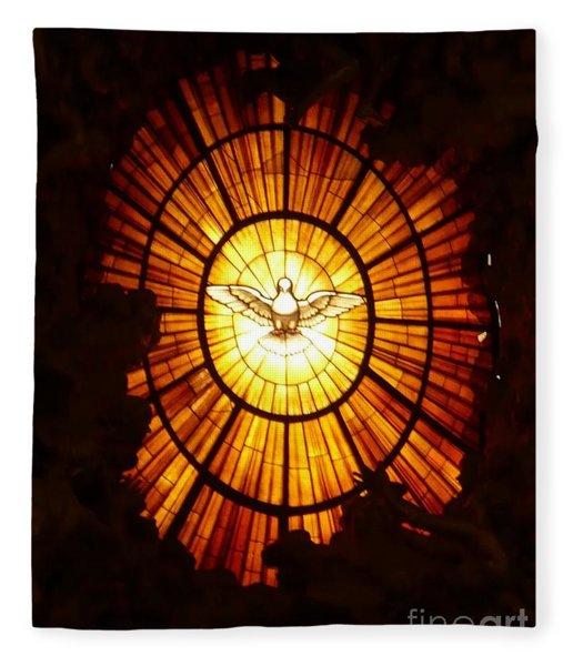 Vatican Window Fleece Blanket