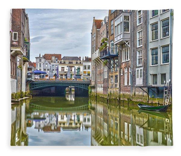Venetian Vibe In Dordrecht Fleece Blanket