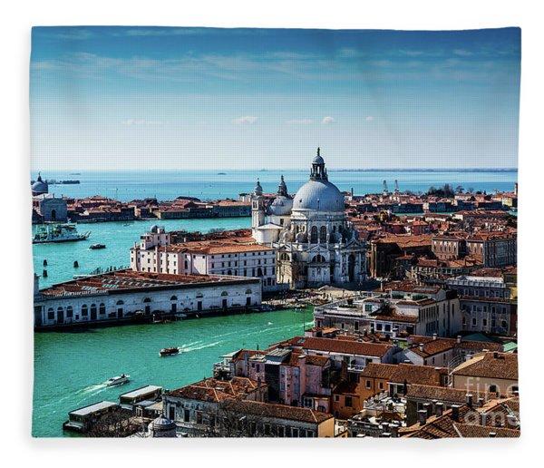Eternal Venice Fleece Blanket