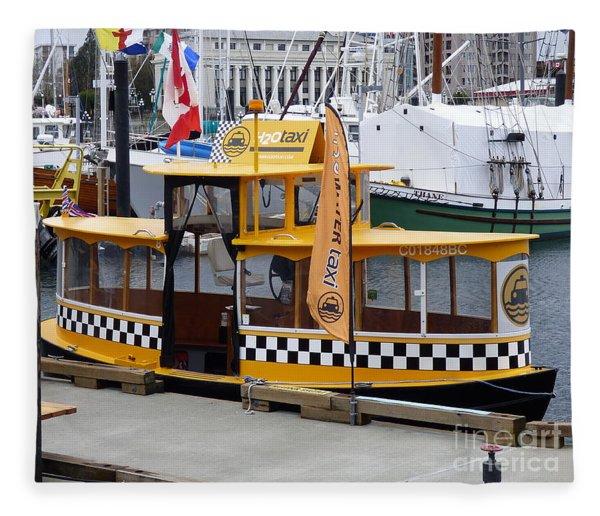 Victoria Water Taxi Fleece Blanket