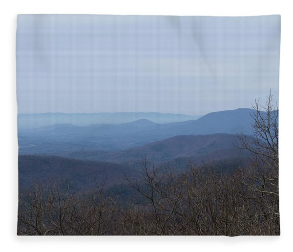 View From Springer Mountain Fleece Blanket